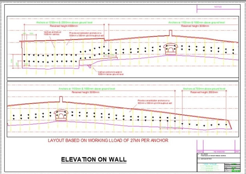 Nailsworth Wall Elevation